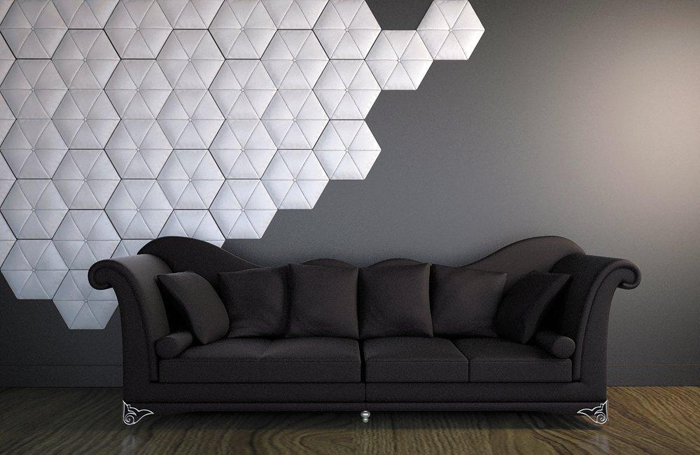 W 332 3D панель в интерьере