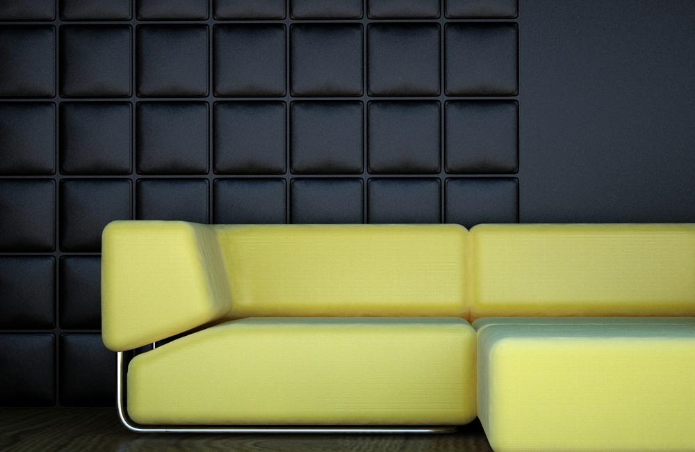 W 321 Арт Декор 3D панель в интерьере